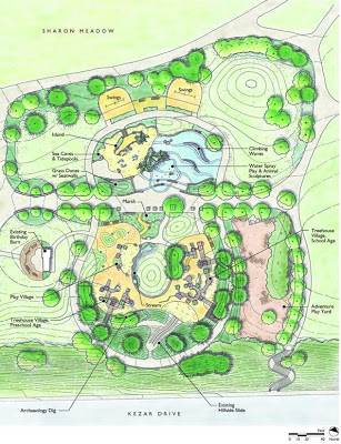 golden gate playground site plan