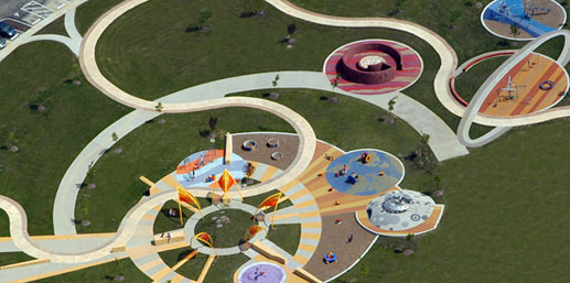 Discovery Frontier playground, Grove Park Ohio, MSI Design ...