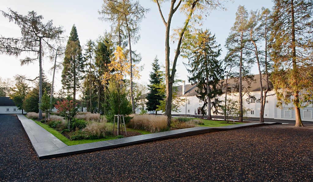 Playful edges at the lackenbach arboretum austria 3 0 for Miller company landscape architects