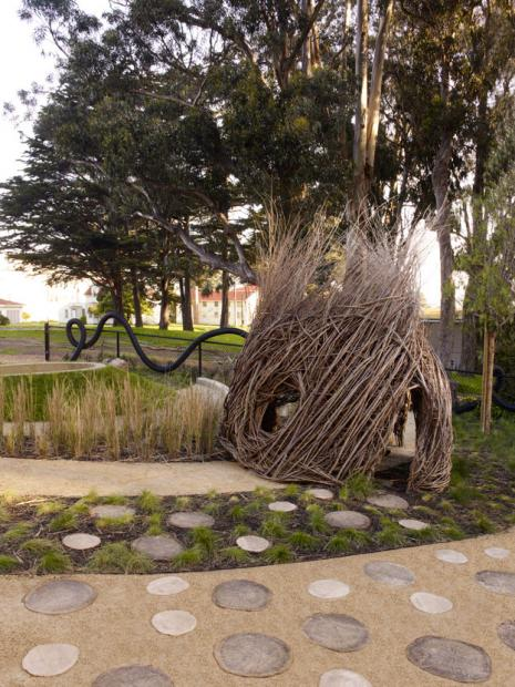 Cow Hollow School Natural Playscape San Francisco