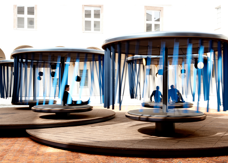 quiet merry go rounds ronan and erwan bouroullec milan 2013 playscapes. Black Bedroom Furniture Sets. Home Design Ideas