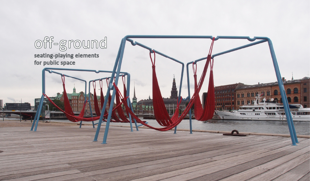 off ground swing hammock play public space1