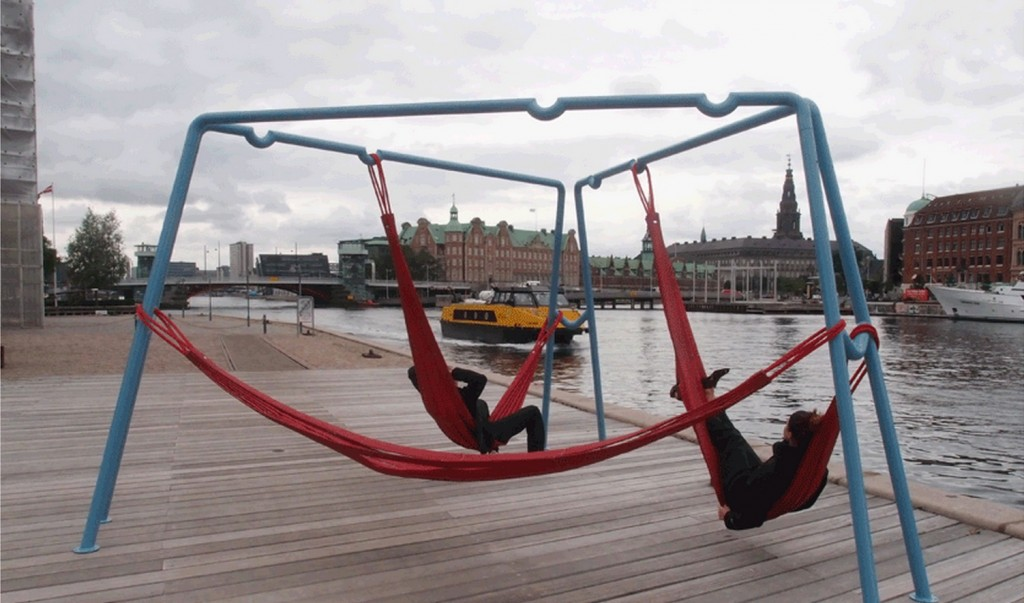 Swings And Hammocks For Public Spaces