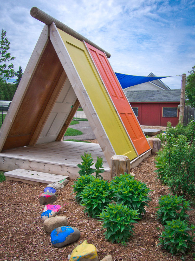 Playhouse made from Recycled Doors Earthscape Toronto Canada 2013 & Playhouse made from Recycled Doors Earthscape Toronto Canada ... Pezcame.Com