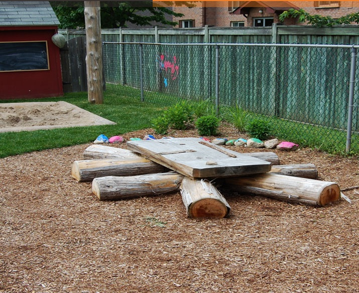 Backyard Nature Playground : Natural Playground Ideas from Earthscapes  Playscapes
