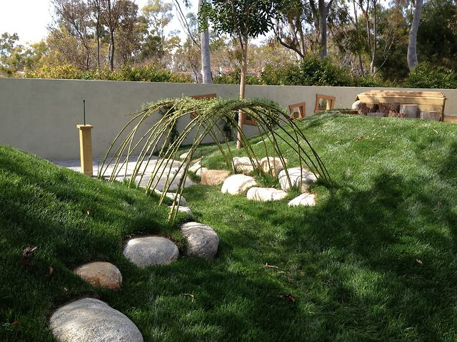 Construction Of The Turtle Rock Preschool Natural Playground Irvine California 2017