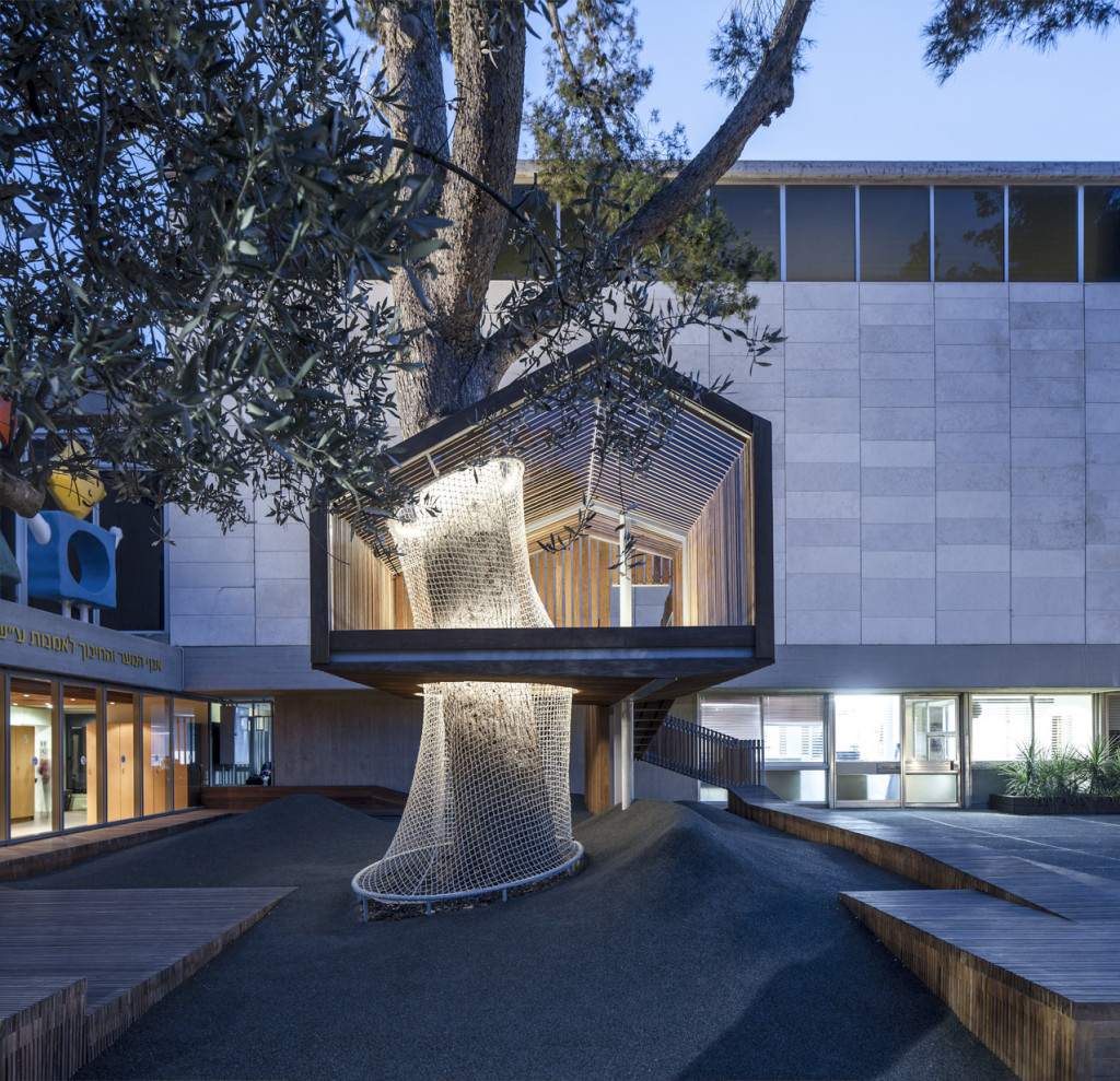 Photograph by Amit Geron.  Image courtesy of the architects