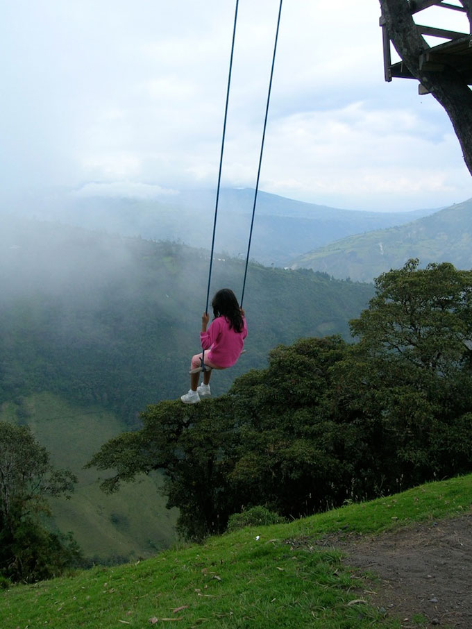 The Swing At The End Of The World Ba 241 Os Ecuador Playscapes