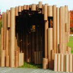 cardboard tube playhouse virginia melnyk1