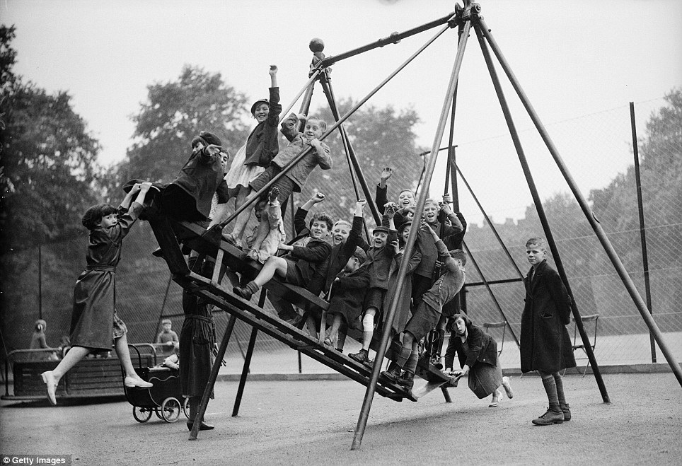 Vintage Skateboard Swing - Playscapes