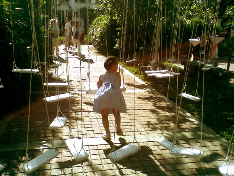 swing art installation silence lea lim