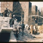 Synthesis of Aldo and Theodor by Paul Friedberg at the Riis Playground, 1965