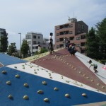 earthscape japan lazona kawasaki innovative playground creative playscape2