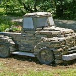 stone truck play sculpture1