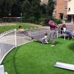 muf architecture hackney playground fence teeter totter