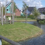 Dutch playground by water