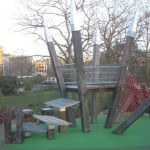 Spa Fields playground, London