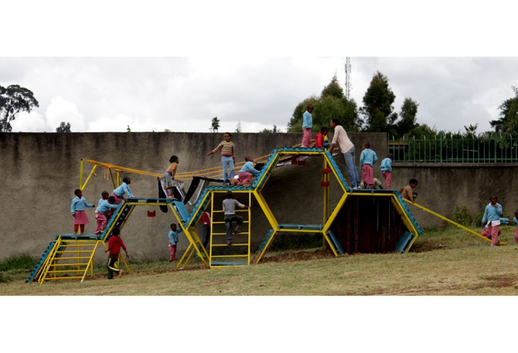 Self Made Playgrounds From Recycled Materials Basurama