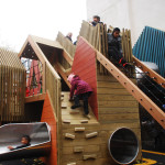 london camden Carlton primary school playground playscape erect architecture1