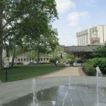 Sister Cities fountain cafe