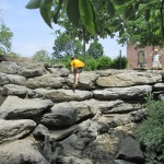 Sister Cities kids natural playground rocks