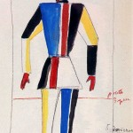 Kazimir Malevich, The Athlete of the Future, 1913