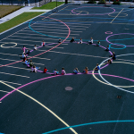 school play castleknock dublin playground paint surface markings2