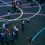 school play castleknock dublin playground paint surface markings3