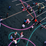 school play castleknock dublin playground paint surface markings4