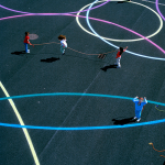 school play castleknock dublin playground paint surface markings6