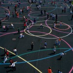 school play castleknock dublin playground surface markings1