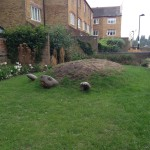 millshott close small playground ideas hill playscape London_1