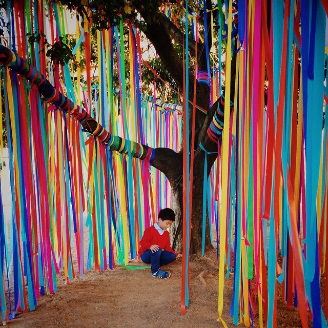 PLAYground for Vivid Sydney 2015 Playscapes
