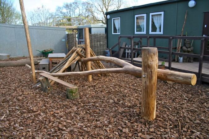 Den Building Frames For Natural Playgrounds